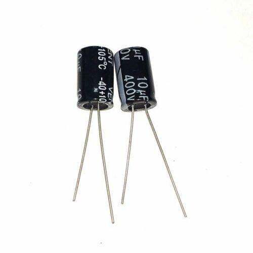 1uf 10uf 100uf 120uf 150uf 180uf 220uf 400v 105c aluminum electrolytic capacitor