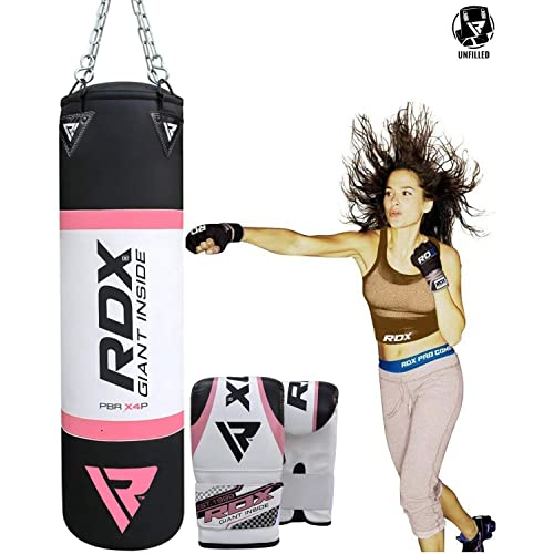 RDX Ladies Boxing Gloves Punching Women Gym Kickboxing MMA Fighting Muay Thai CA