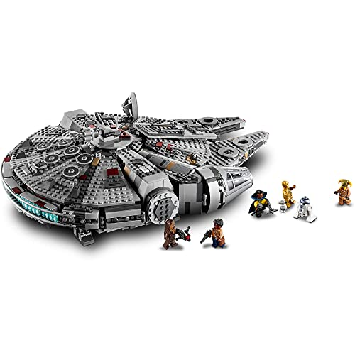 Lego Star Wars The Rise Of Skywalker Millennium Falcon 75257 Starship Model Building Kit And Minifigures New 2019 1 351 Pieces Buy Products Online With Ubuy Bangladesh In Affordable Prices B07qq396nh